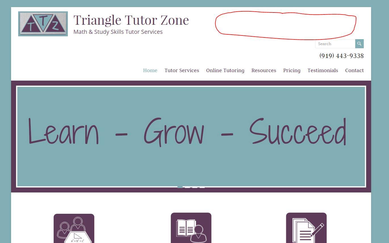 Website - The Tutor Coach