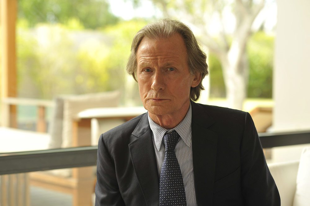 Bill Nighy-Turks and Caicos