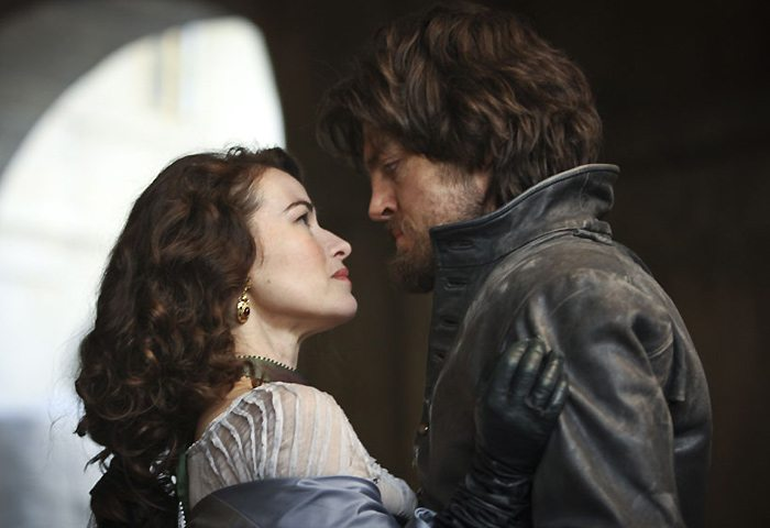 Athos and Milady-Musketeers