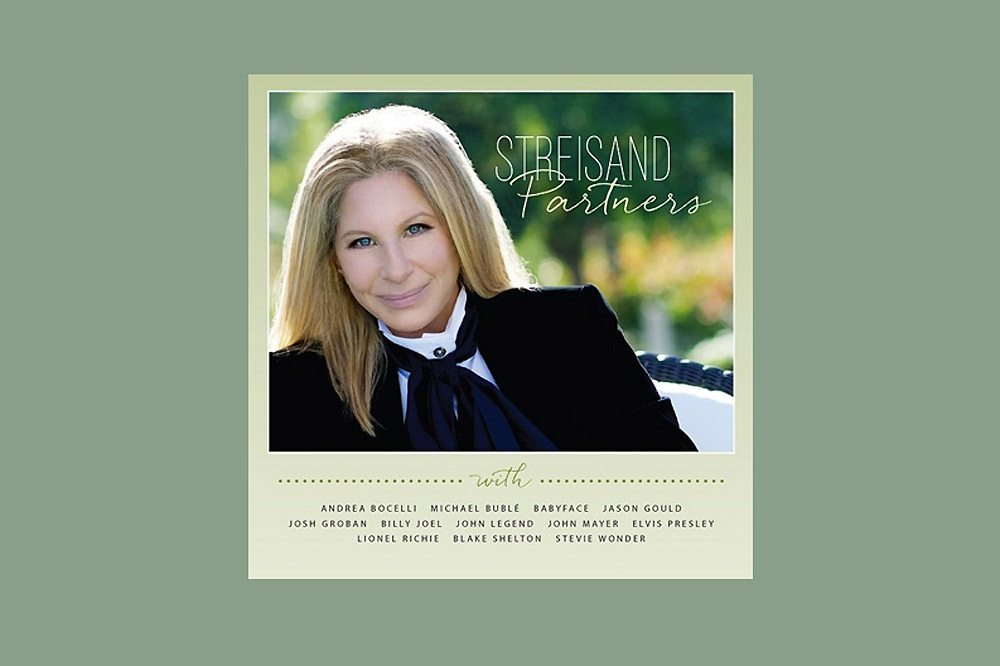 barbra-streisand-partners album cover