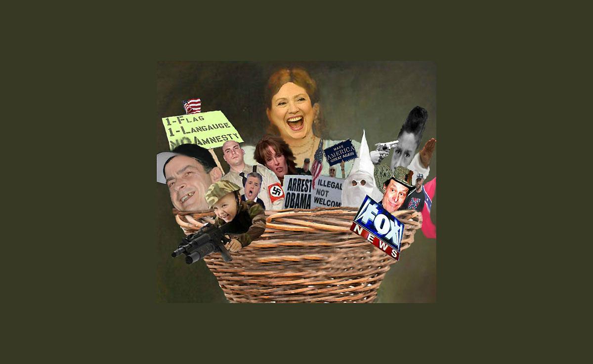 Hillary Basket of Deplorables