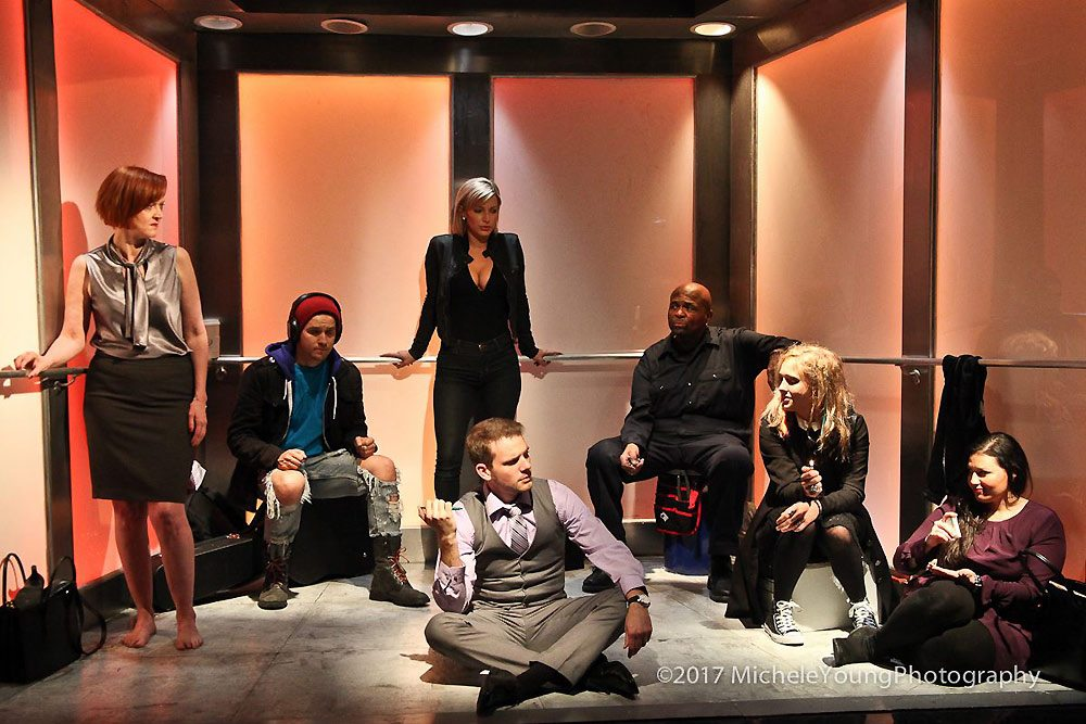 Elevator ensemble cast (The TVolution)