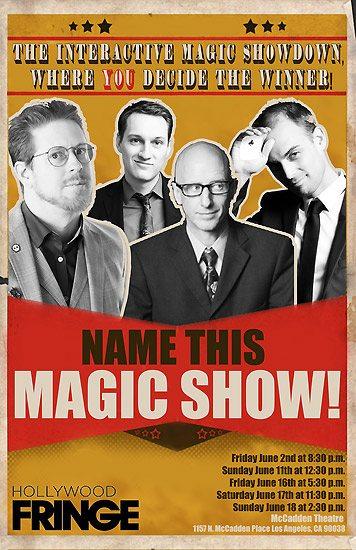 Fringe 2017 - Name This Magic Show