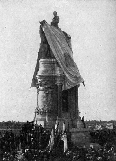 Robert E. Lee Statue Unveiling