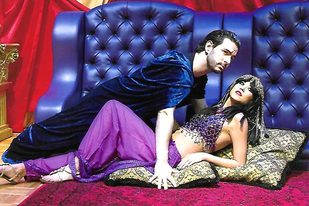 Antony and Cleopatra-Gloria Gifford production