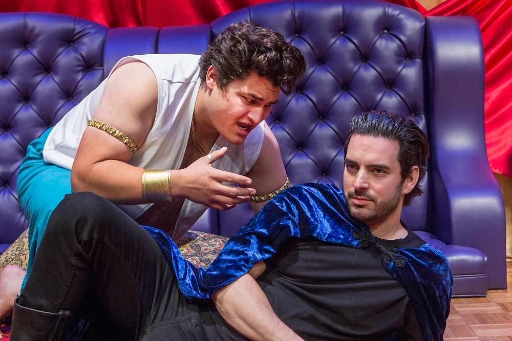 Antonio Roccucci, Danny Siegel in 'Antony & Cleopatra'
