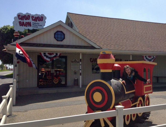 Choo-choo Barn in Lancaster is amazing!