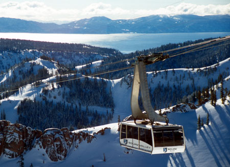 Aerial tram, Squaw Valley