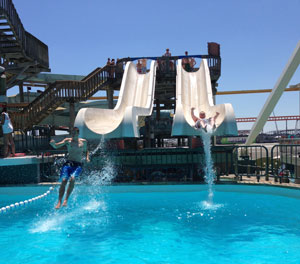 Shotgun Falls, Morey's Piers, Wildwood, NJ