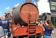Butterbeer at Universal Orlando