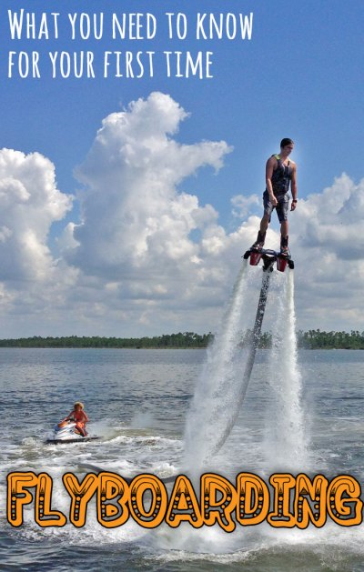 Tips for your first time flyboarding - an exciting new water sport!