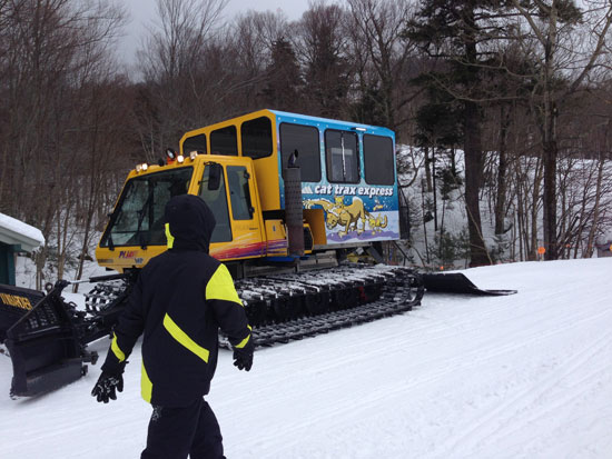 Cat Trax at Smugglers' Notch Vermont