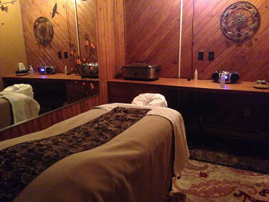 Mountain Massage at Smugglers' Notch Vermont