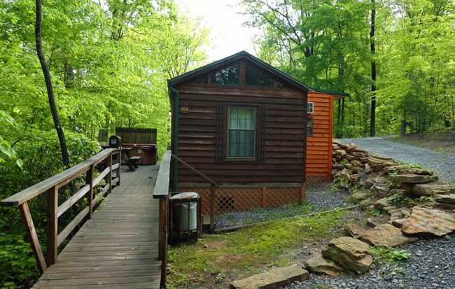 Laurel Cabin at ACE Adventure Resort.