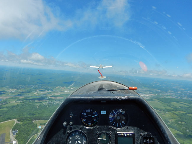 Take a glider ride over the southern Finger Lakes region of NY for an unforgettable adventure.