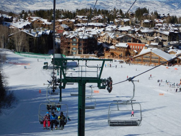 Tons of lodging options close to the slopes at Deer Valley Ski Resort in Utah.