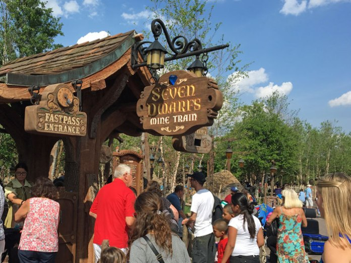 Is Seven Dwarfs Mine Train at Disney World scary?