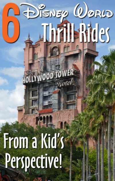 6 Disney World Thrill Rides - from a Kid's Perspective!
