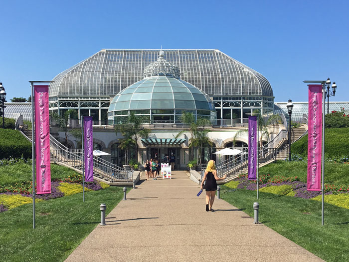 The Phipps Conservatory And Botanical Gardens In Pittsburgh, PA.