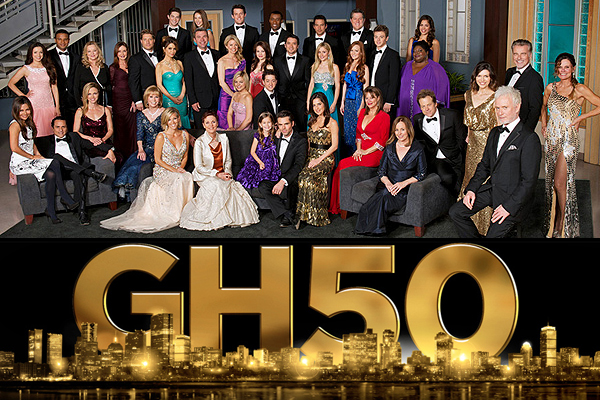 general hospital 50th anniversary