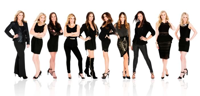 hockey wives cast w network