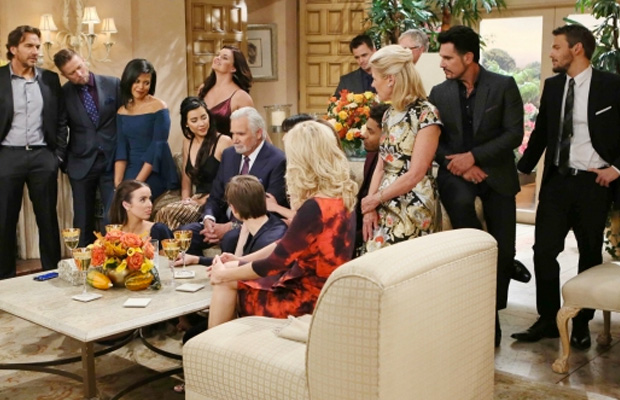 bold and the beautiful thanksgiving 2016