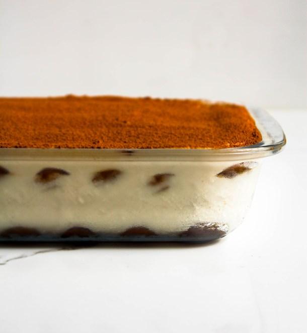 Eggless Tiramisu