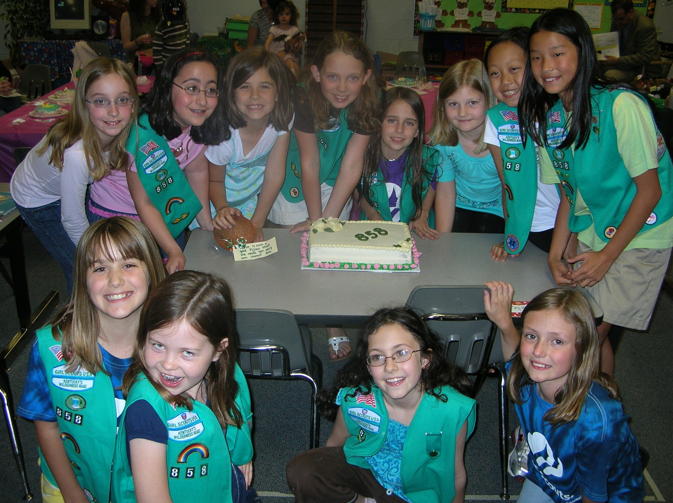 Girl Scout Troop 858