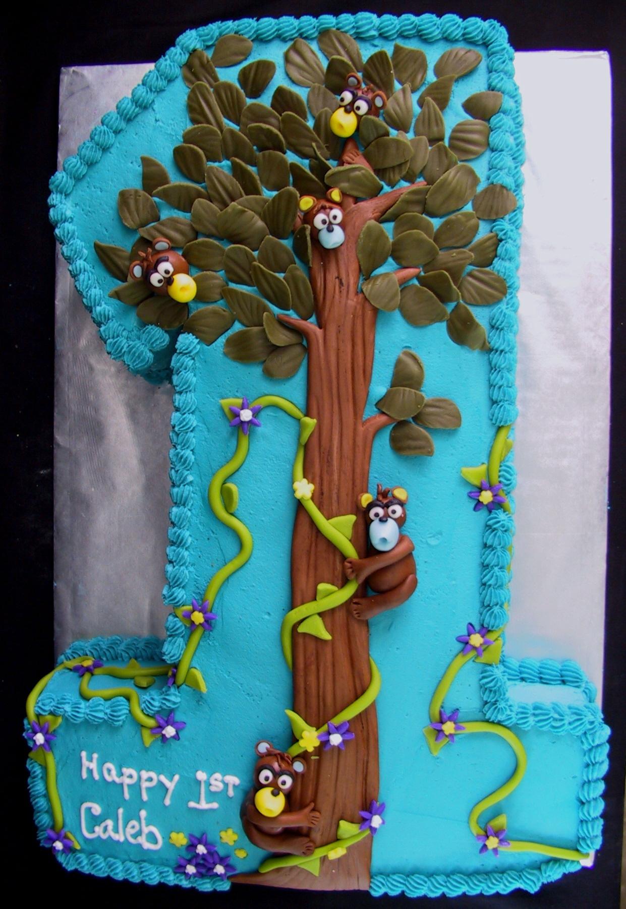 1 monkey cake