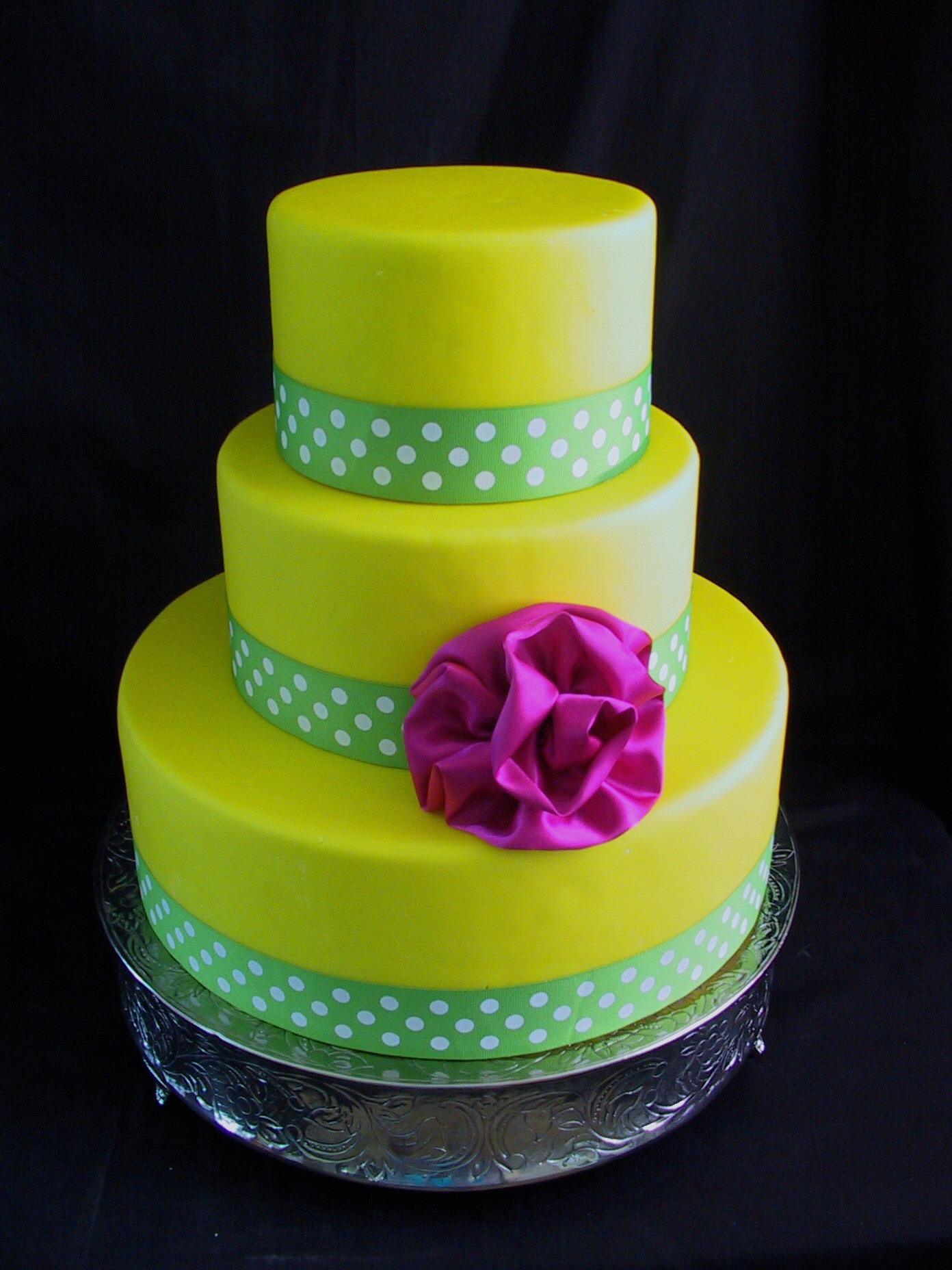 Lemon Lime Hot Pink