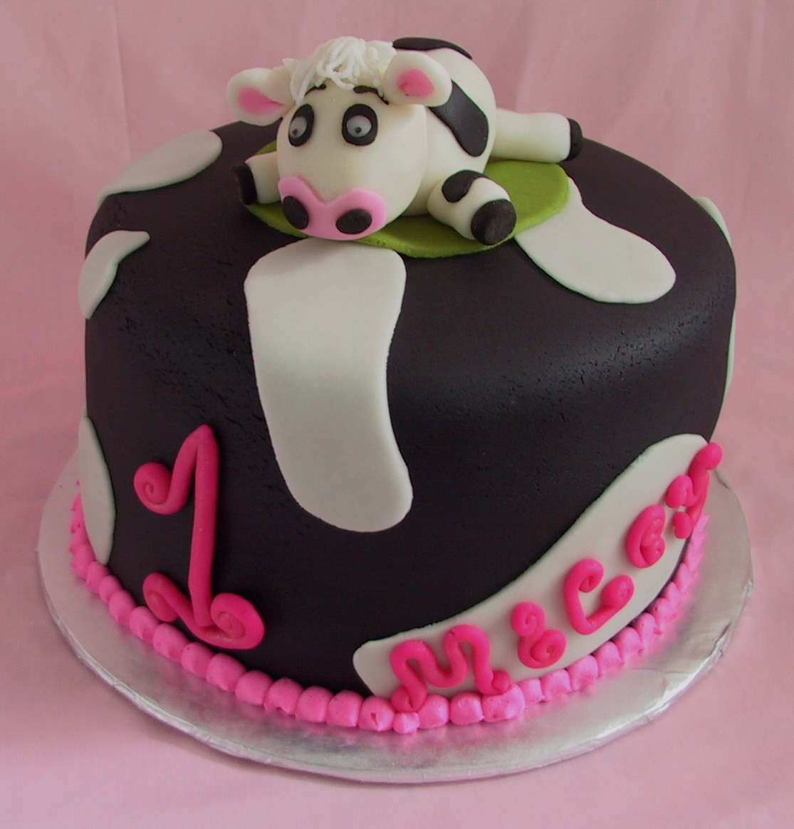1 cow cake