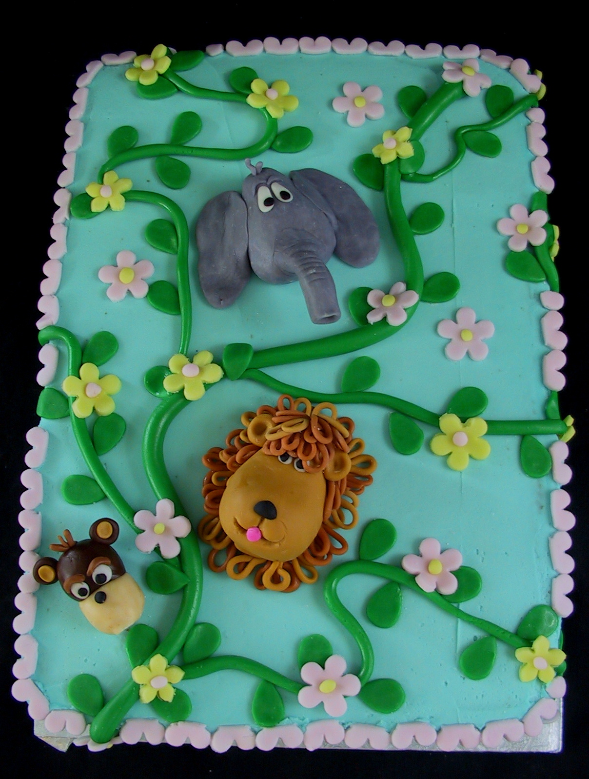 Jungle Birthday Cake Perryville Ky