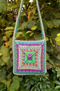 knitted bag free pattern stranded fair isle