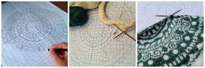thetwistedyarn.com free knitted mandala pattern