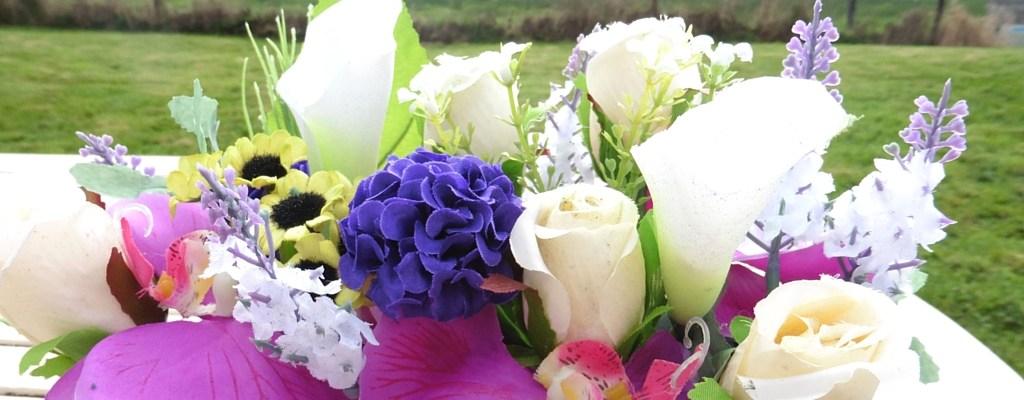 gingerlily silk flower DIY chelsea flower show the two darlings blog ireland