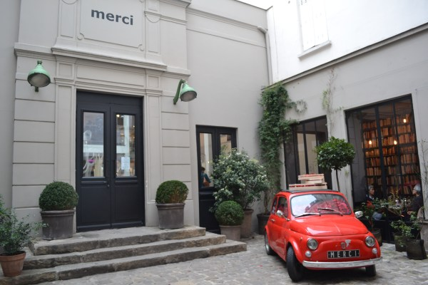 Where to stay in The Marais Paris - Check out Merci