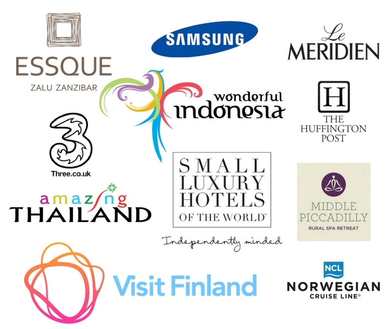 The Two Travelled - Brands we've worked with