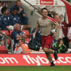 Phillip Wilson Premiership Football Physiotherapist