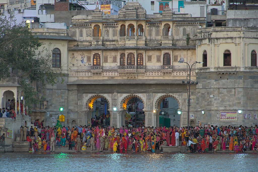 Gangaur festival at Gangaur Ghat