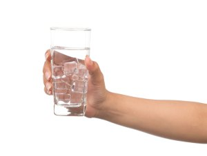 holding glass