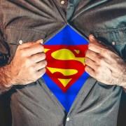 man hero instinct