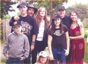 Micael, Roddy, Rod, Jackie, Kaylah, me and Martica