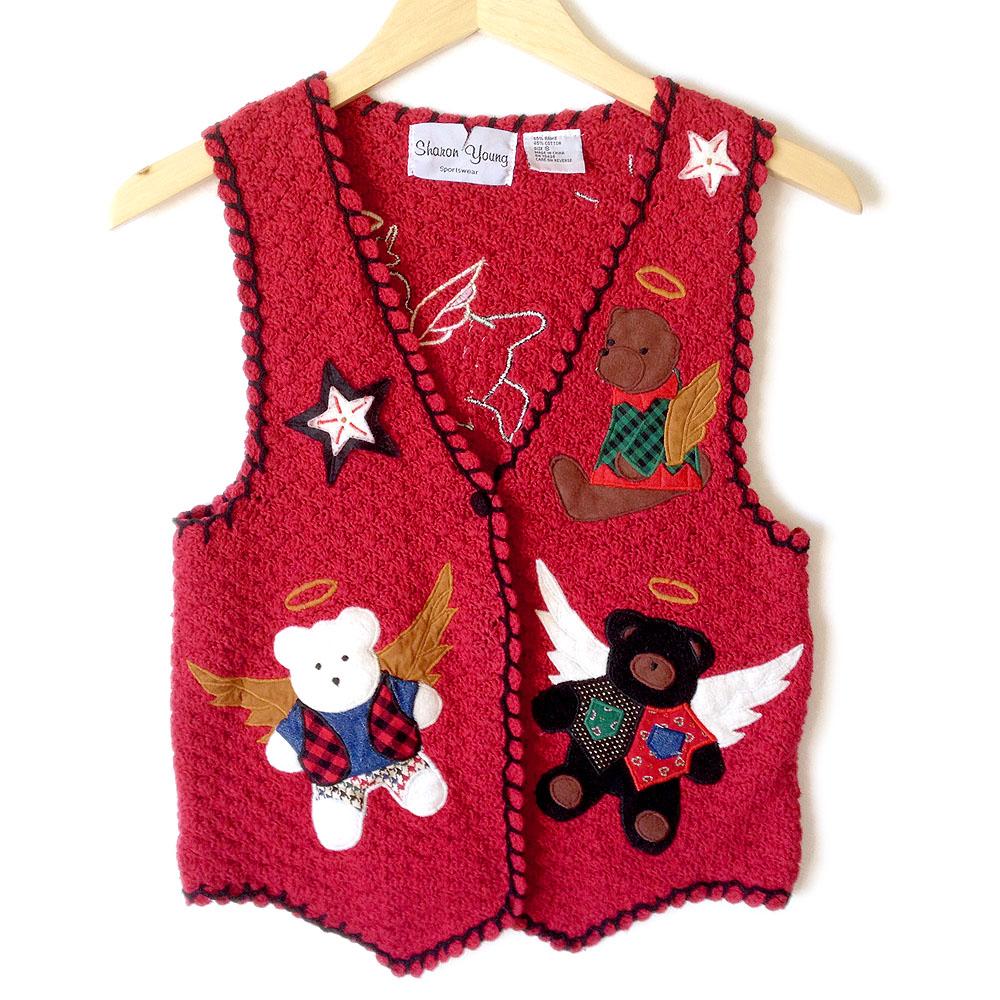 All Teddy Bears Go To Heaven Tacky Ugly Christmas