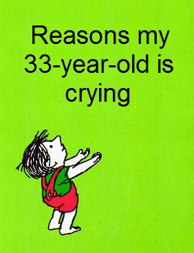 """I'm not even including reading """"The Giving Tree"""" on this list, but know that the last three pages of my copy are warped from the constant fall of tears."""