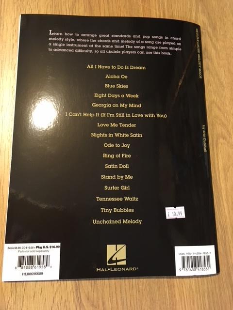 Ukulele Chord Melody Solos Eric Cutshall The Uke Room