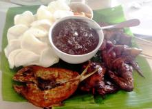 Filipino grilled and sizzling foods