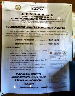 Advisory: Municipal Ordinance (Effective on Oct. 2016)