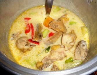 Ginataang Sorol (Native Chicken) Php180 for 1/2 kilo