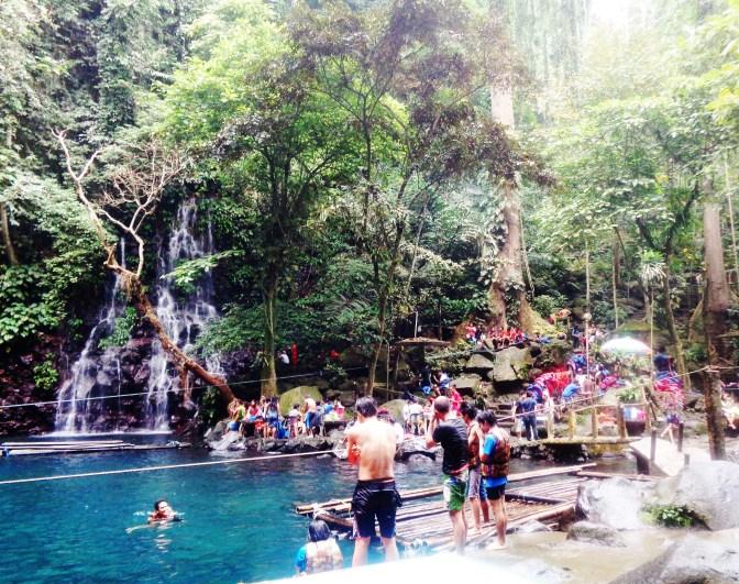 It's more fun in Tinago Falls!