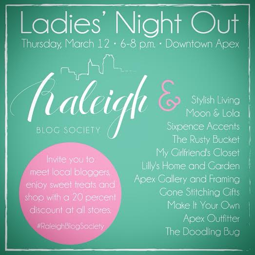 Ladies Night Out – Raleigh Blog Society
